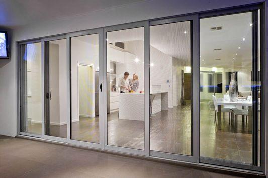 Crimsafe Security Screens In Brisbane Patio Doors Steel Door Design Security Screen Door