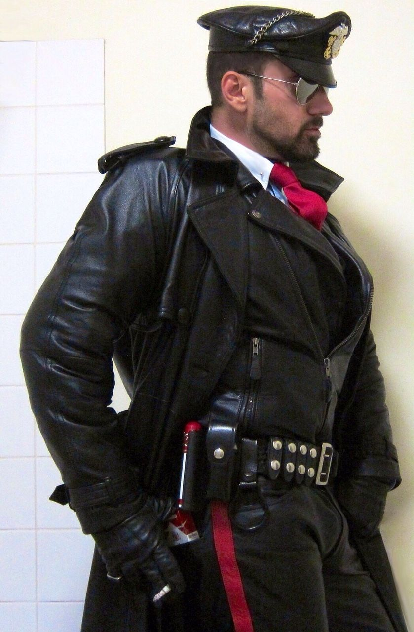 from Raiden male leather gay daddy photos