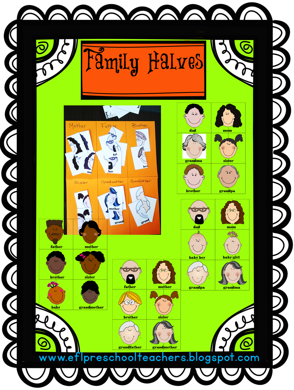 Family Theme For Esl With Images