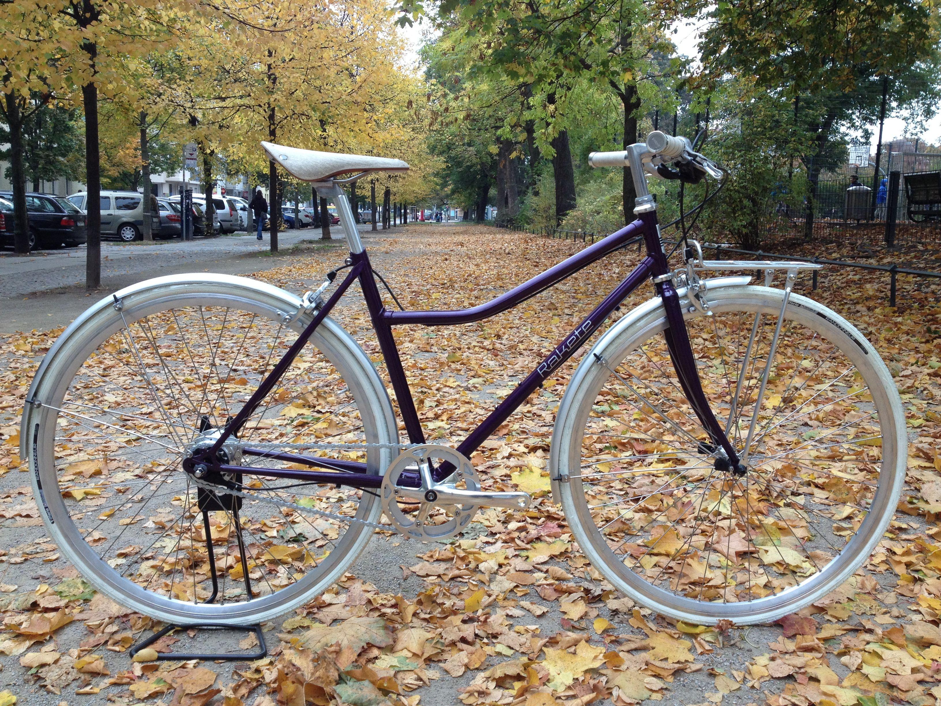 Klassisches Damensportrad Meral Fahrrad Design Rakete Fahrrad