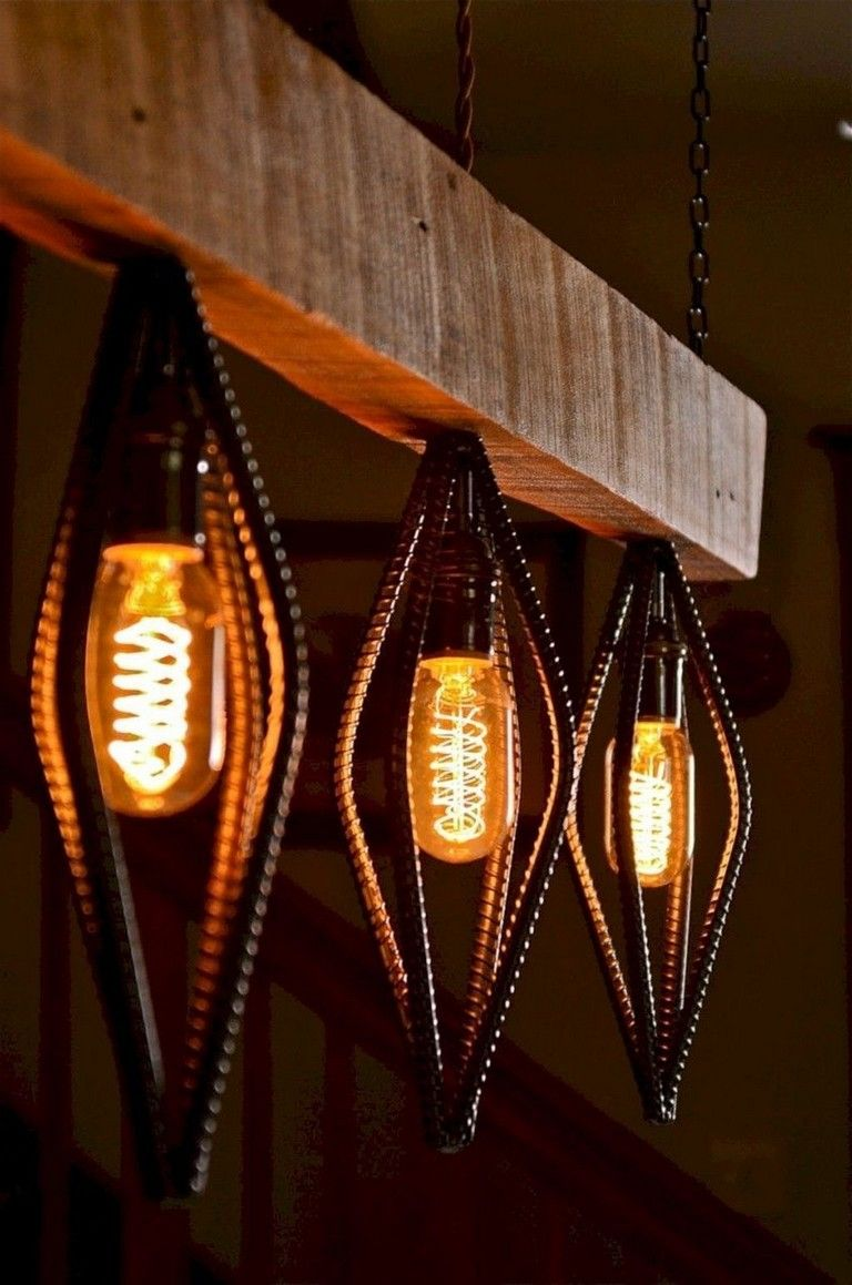 33 Interesting Handmade Industrial Lighting Design Ideas Hanging