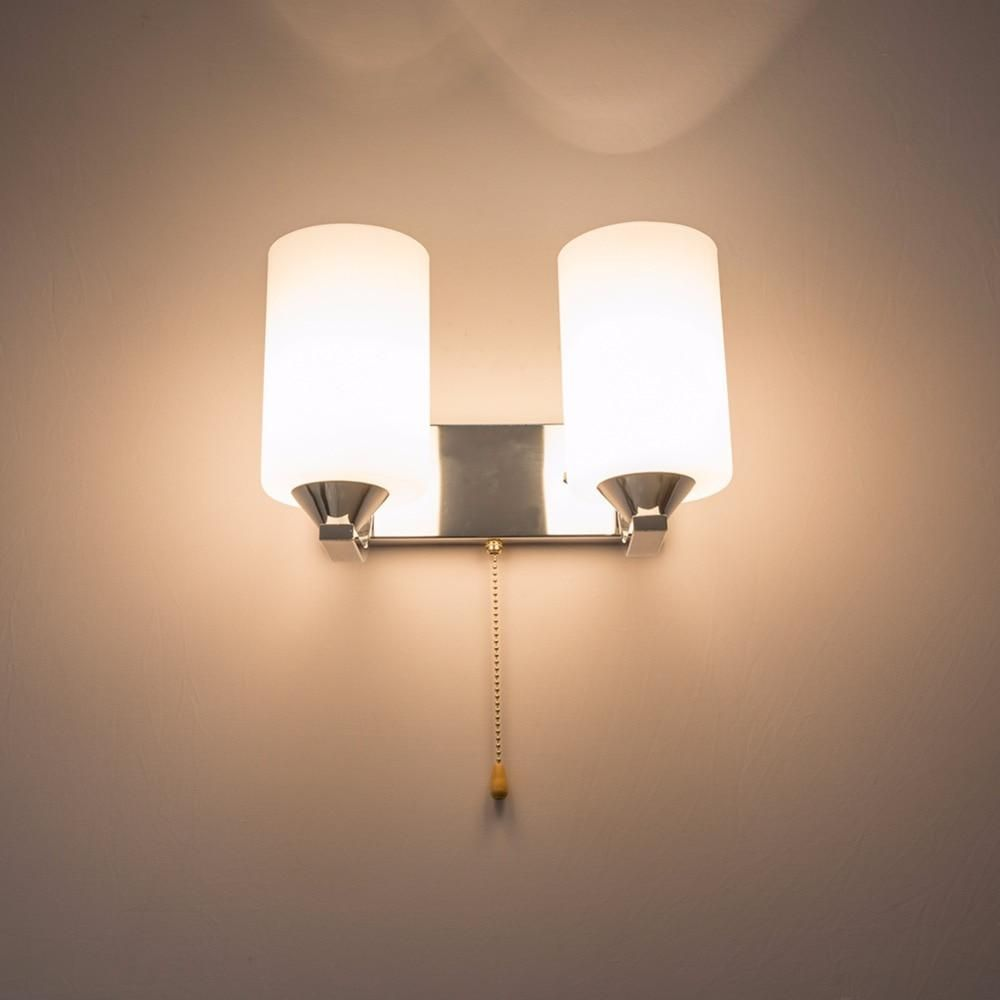 Hghomeart Modern Wall Lights Indoor Lighting Led Wall Lamp E27