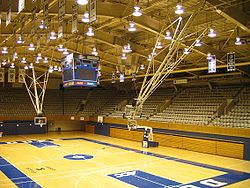 Duke University Indoor Basketball Court Duke Blue Devils Duke University