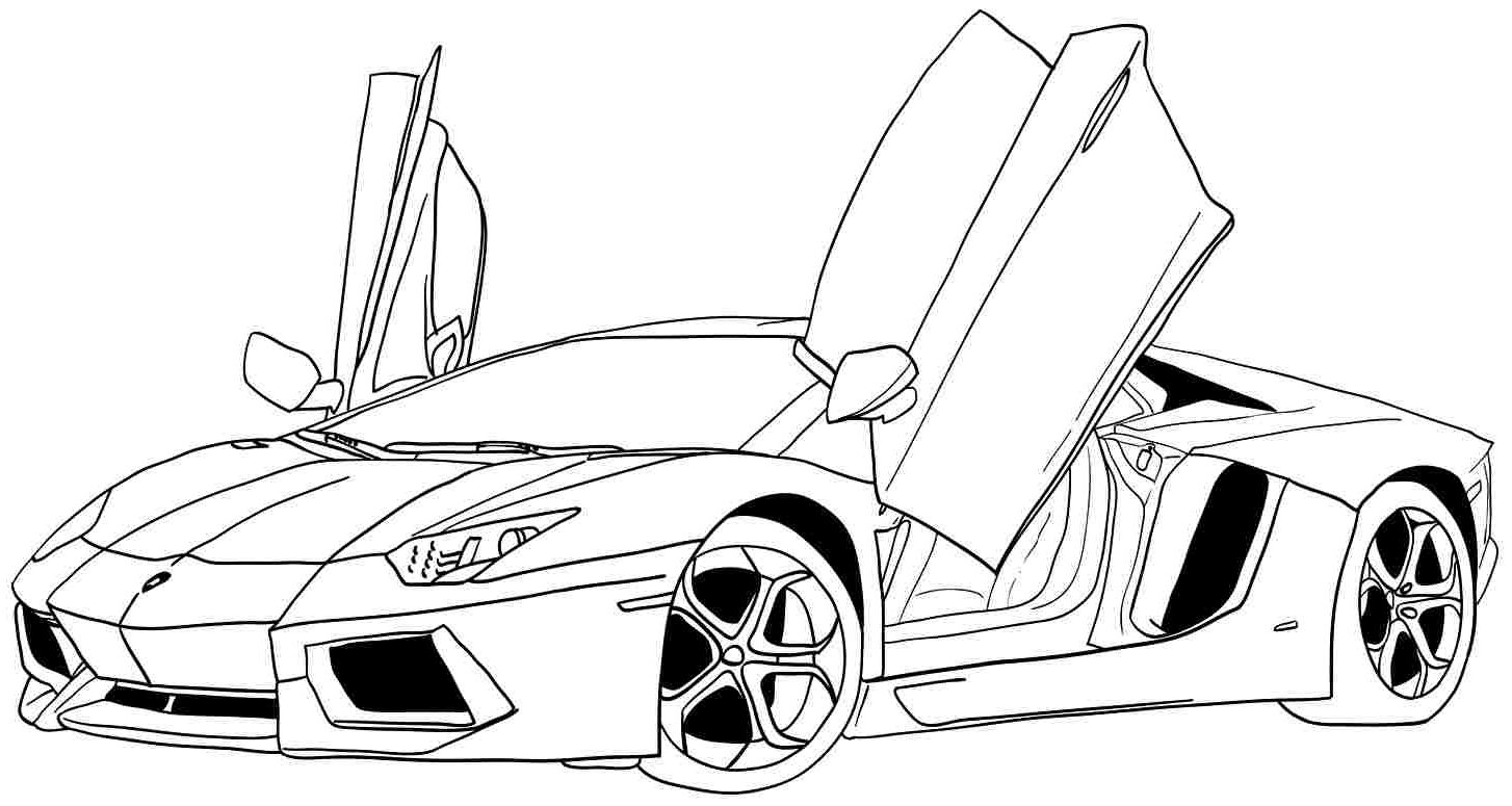 Cool Car Coloring Pages Sports Coloring Pages Race Car Coloring Pages Coloring Pages For Boys