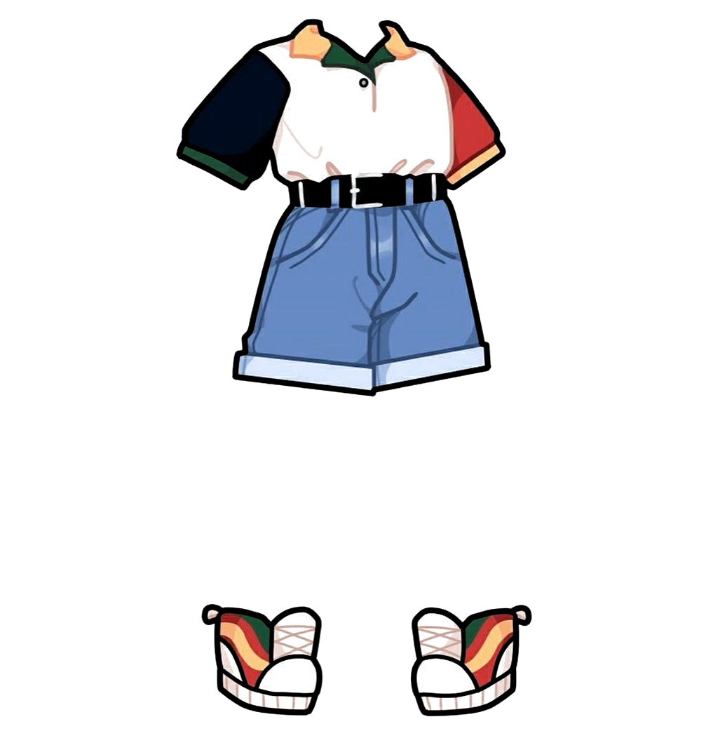 Pin by ЧебуреГ D on Gacha life clothes in 2020 Drawing