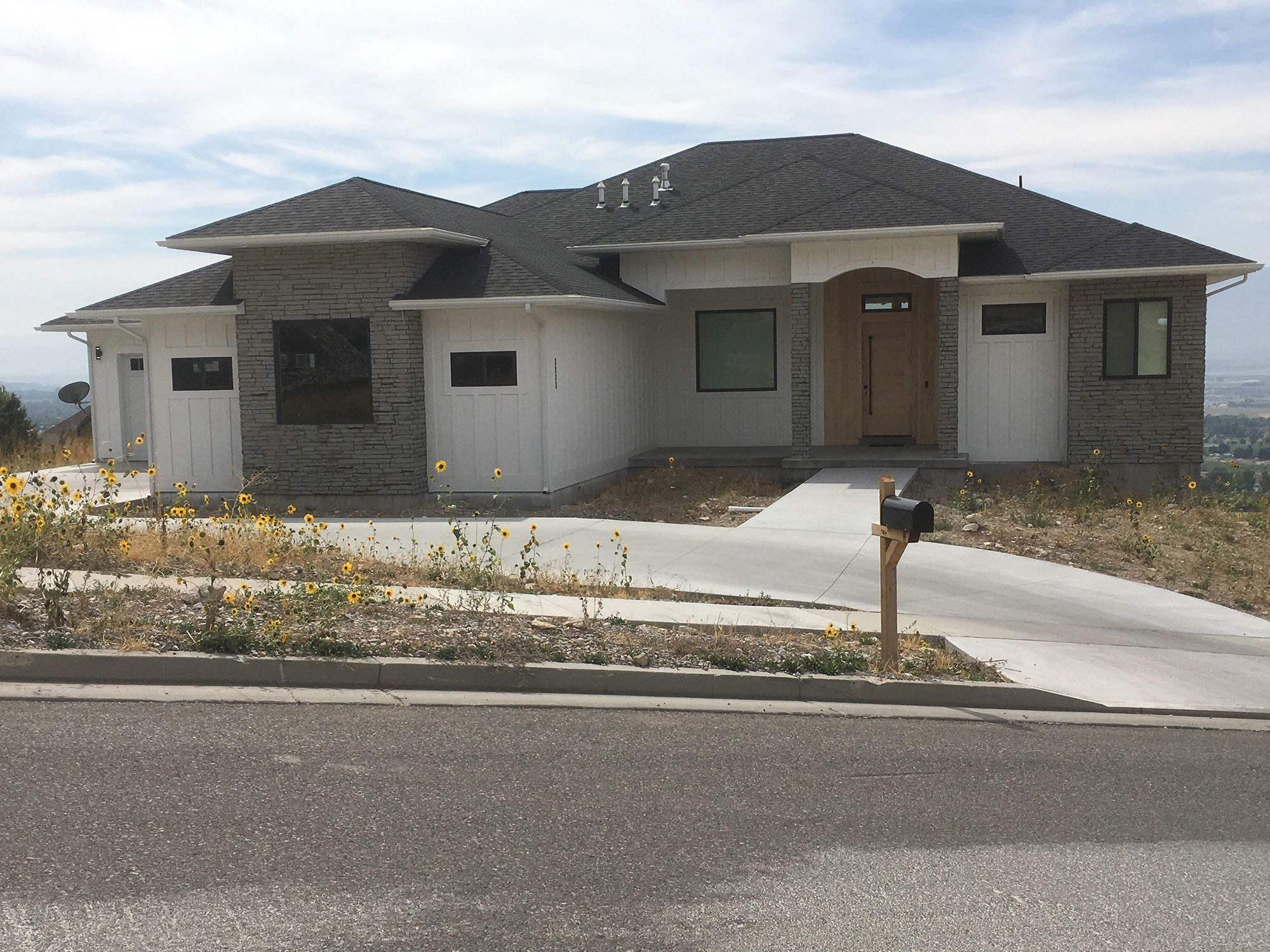 Check out this beautiful modern home built in logan ut we