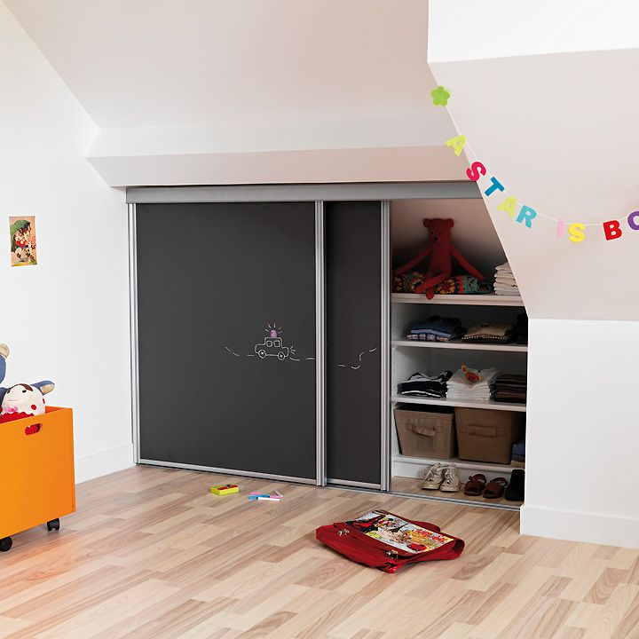 6 astuces en images pour am nager et d corer une chambre d 39 enfant une chambre d 39 enfant en sous - Decorer une chambre mansardee ...
