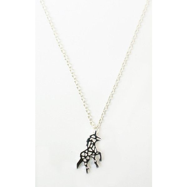 Tallulahs threads silver unicorn necklace 18 liked on tallulahs threads silver unicorn necklace 18 liked on polyvore featuring jewelry necklaces aloadofball Image collections