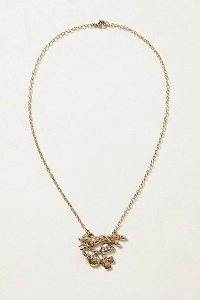 Silva Pendant Necklace #anthropologie  #anthrofave
