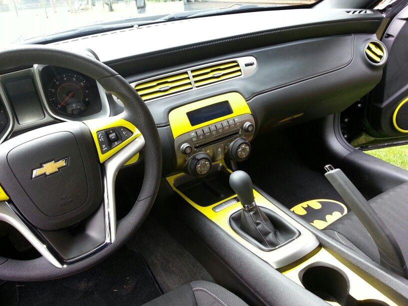 Batman S Interior Camaro My Car Uploads Pinterest Batman