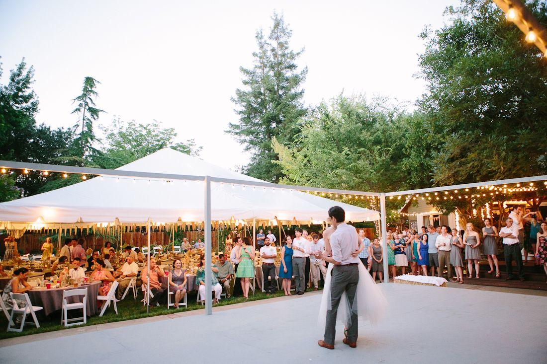 Diy Backyard Bbq Wedding Reception Our Wedding