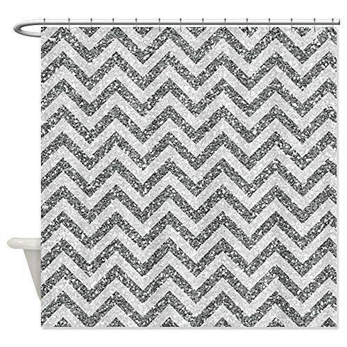 Black White Chevron Shower Curtain. Best Glitter Chevron Shower Curtain  chevron
