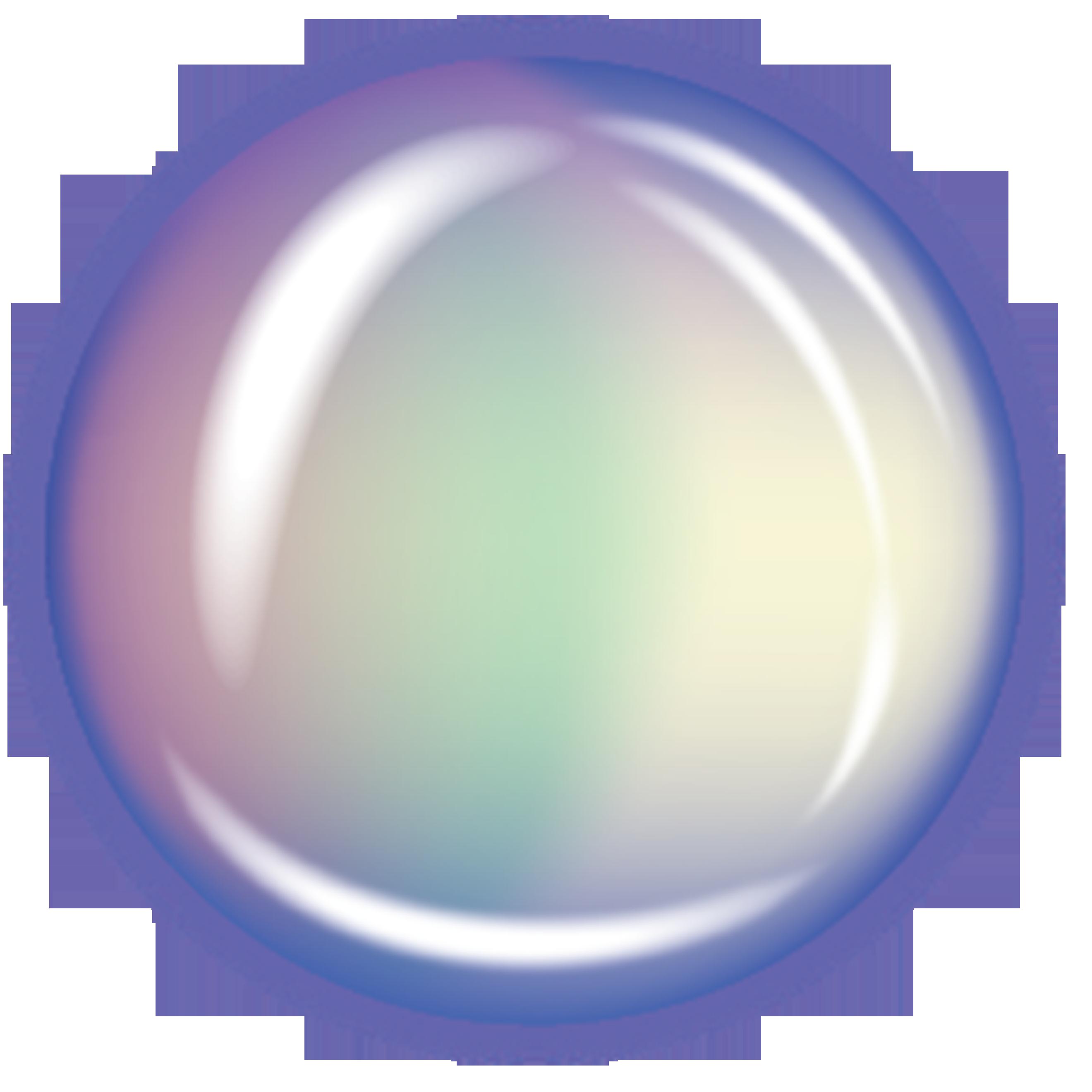 Bubble rainbow. Transparent clip art resources
