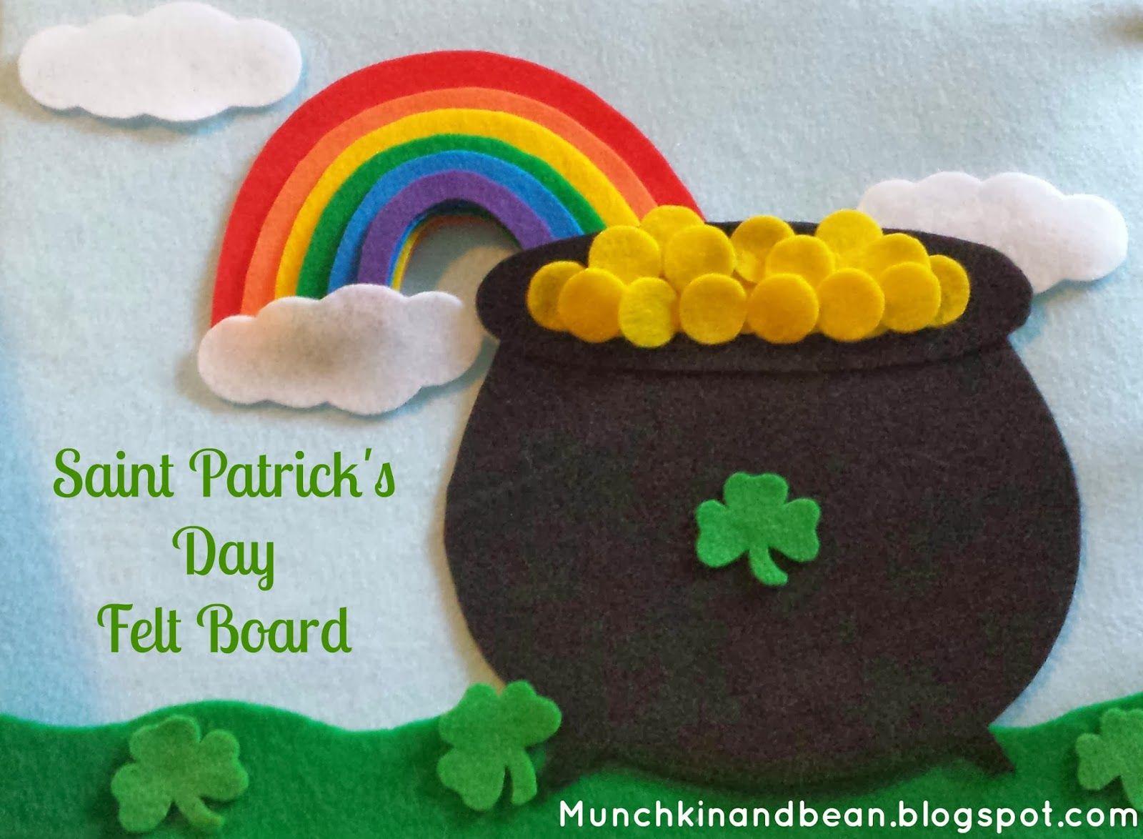 60 St Patrick S Day Activities Preschool And Kindergarten Community St Patricks Crafts St Patrick S Day Crafts Felt Board [ 1174 x 1600 Pixel ]