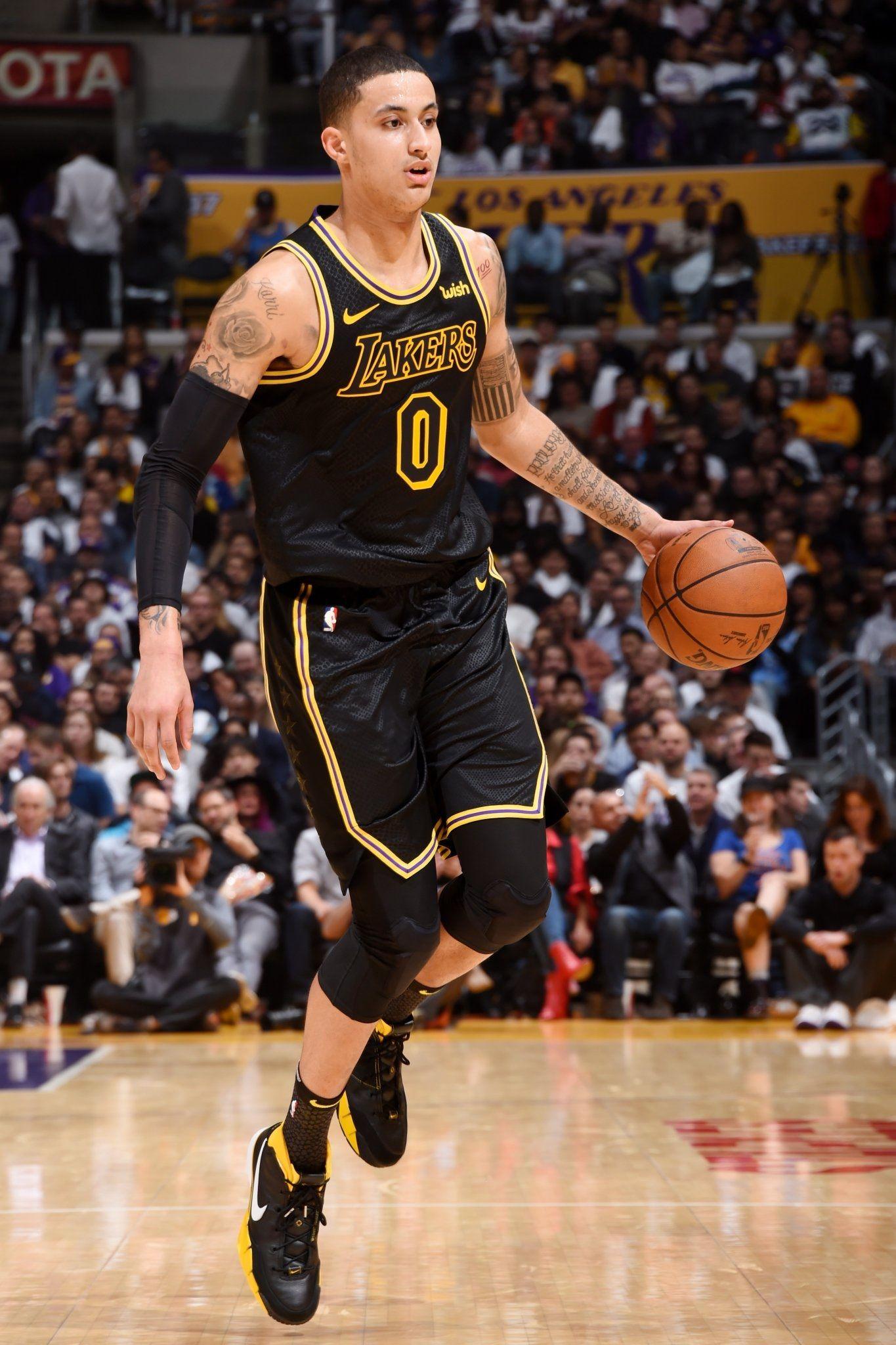 Kyle Kuzma Kyle Kuzma Kyle Lebron James Lakers