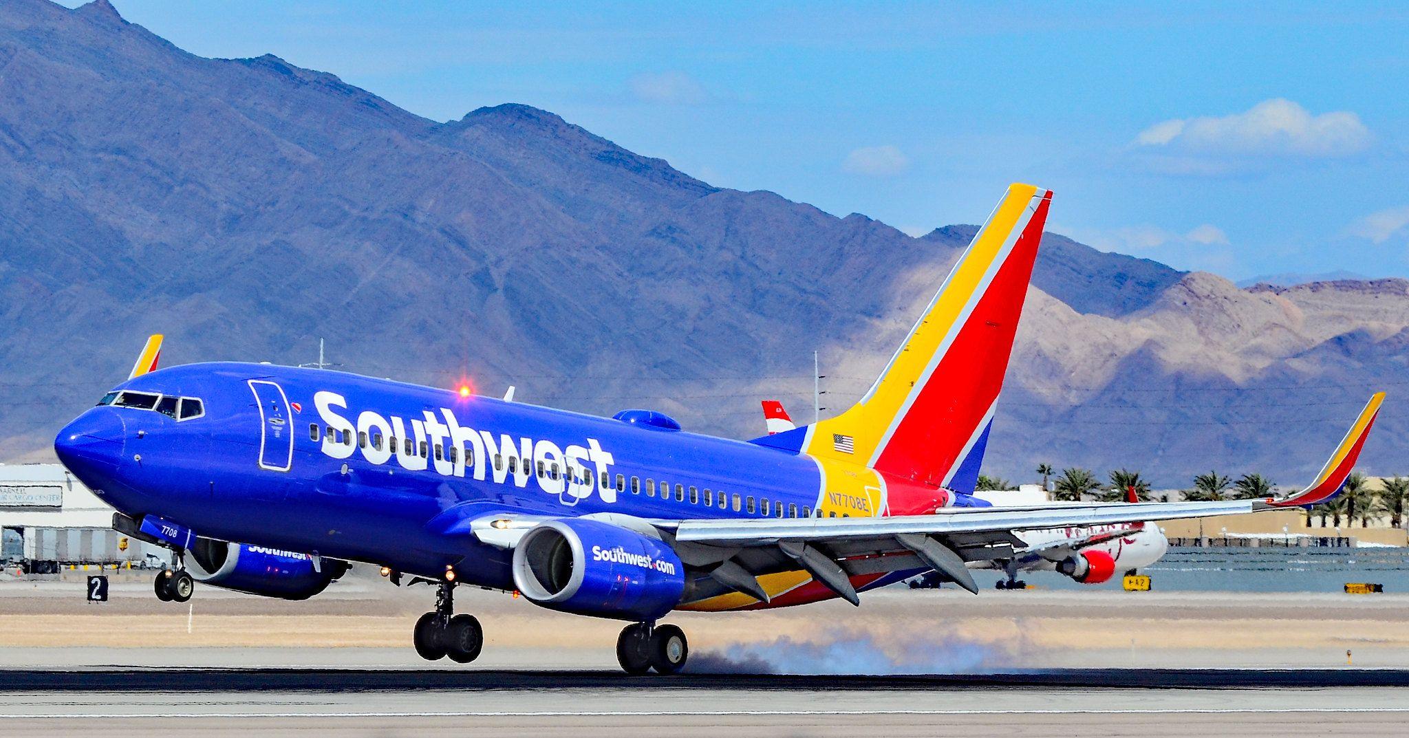 N7708E Southwest Airlines Boeing 73776N s/n 32652