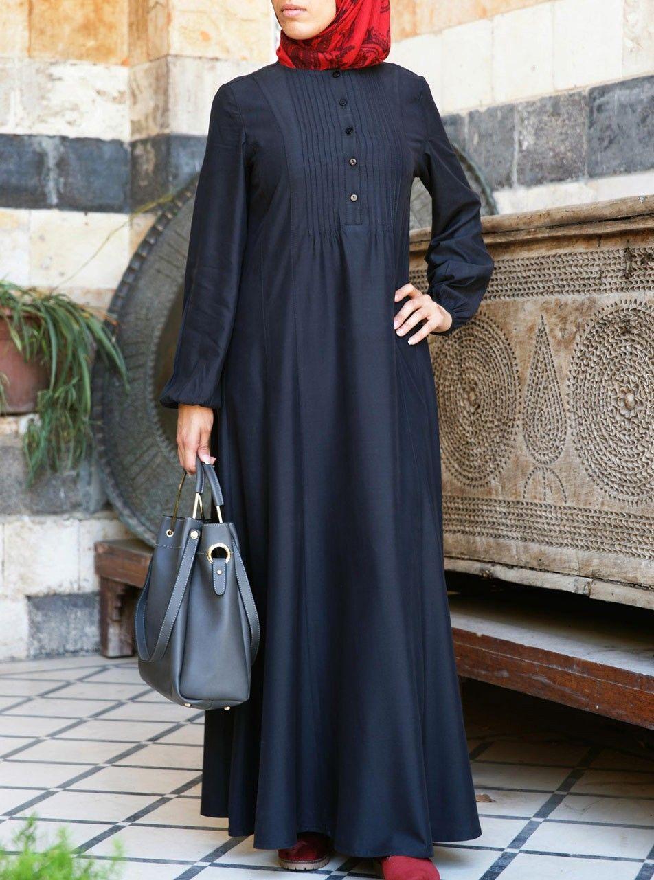 fd0ce9680c Peach Touch Modal Abaya - Abayas - Women