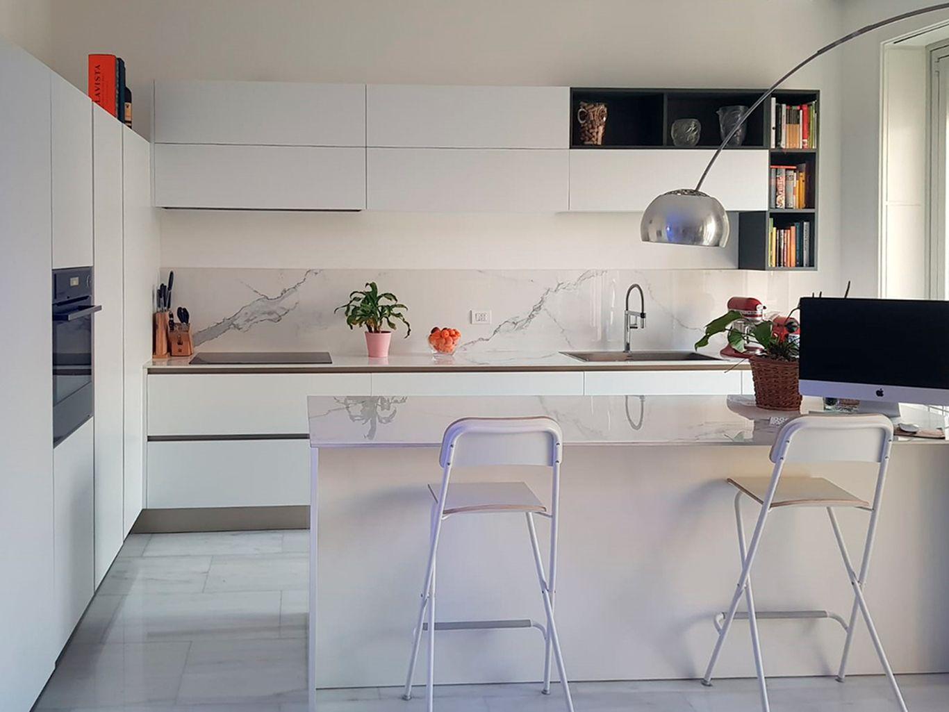La cucina Oyster di Marco&Elena | Veneta Cucine | Dining ...
