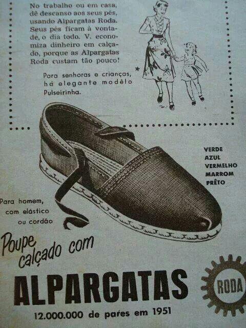 Alpargatas.