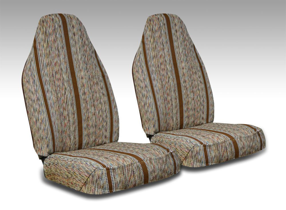 Brown Saddle Blanket Seat Covers For High Back Bucket Seats Saddle Blanket Seat Covers Blanket
