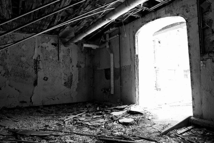 The Abandoned Historic Tome School for Boys Turned Naval