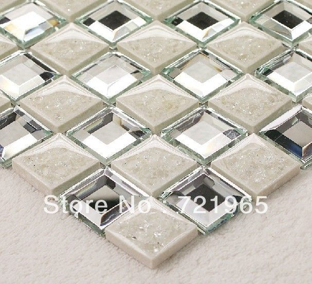 Mirror Backsplash Tiles Google Search Mirror Tile Backsplash Mosaic Tiles Bathroom Wall Stickers