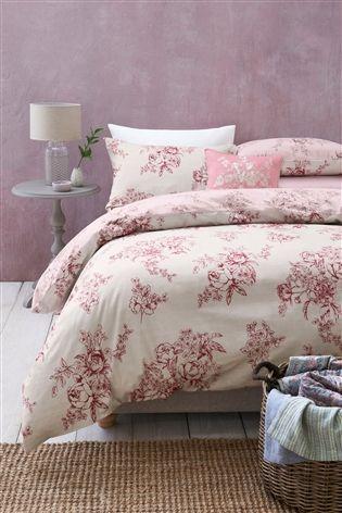 Buy 2 Pack Dusky Pink Floral Bed Set From The Next Uk Online Shop