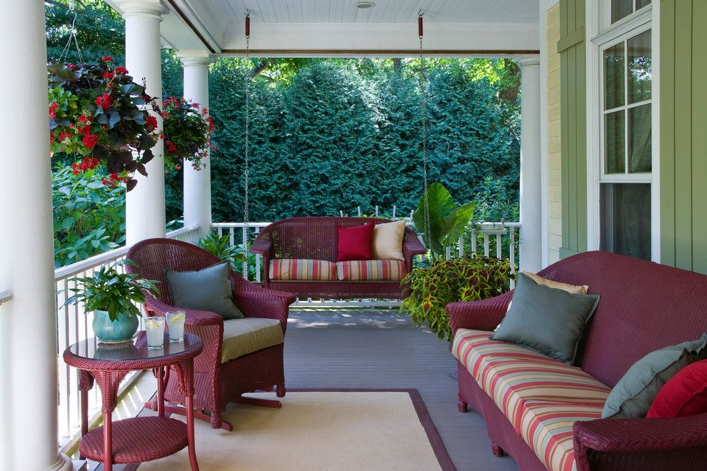 Cool Patio Cushions Clearance Decorating Ideas Images In Porch Traditional Design