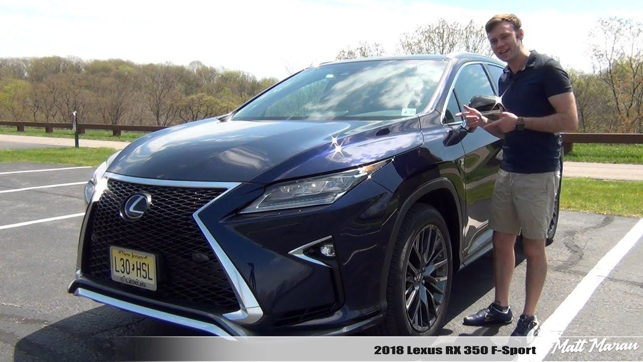 Review 2018 Lexus RX 350 FSport AWD Solid and Sporty