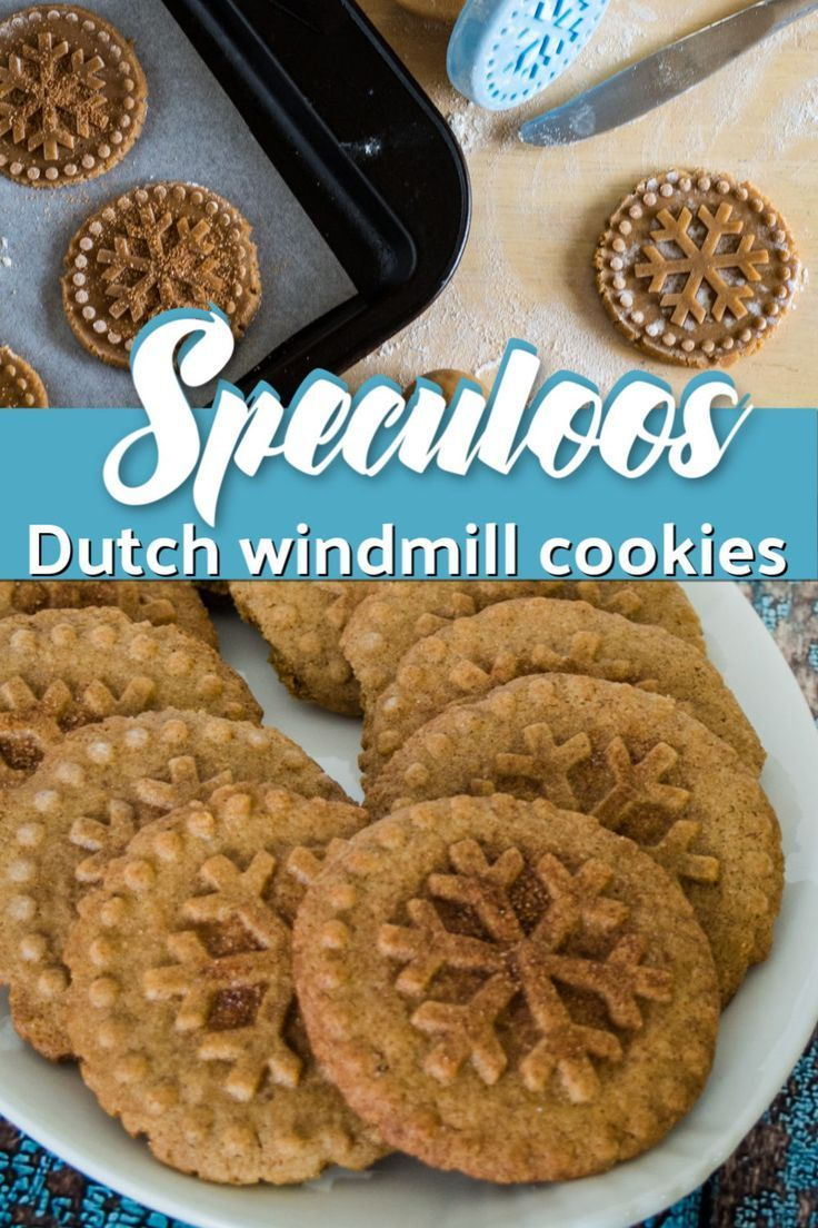 Speculoos Dutch Windmill Cookies Windmill cookies