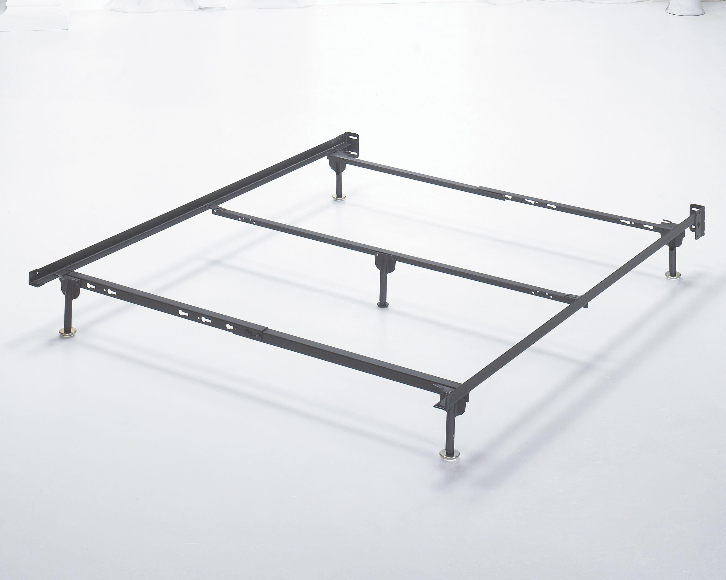 Frames And Rails Queen Bolt On Bed Frame Metallic Vintage