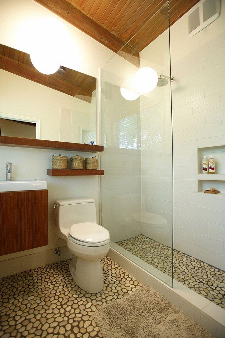 inspiring mid century modern bathroom for your home