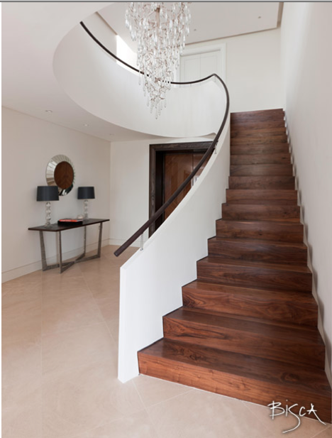Best Straight Staircase Curved Balcony Wooden Staircase 640 x 480