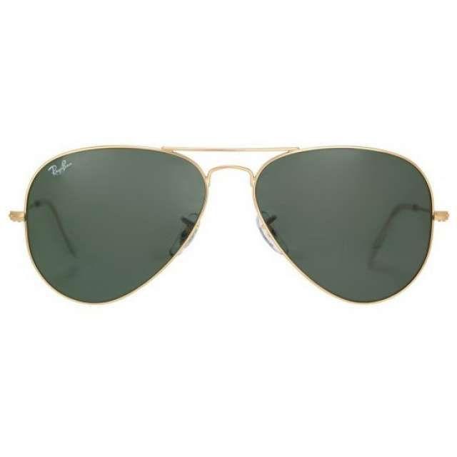 gafas ray ban montura dorada