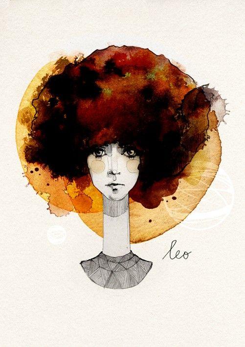 Ekaterina Koroleva |   #artists #ekaterinakoroleva #art #artprints #wallart #framedart #graphicart #illustrations #leo