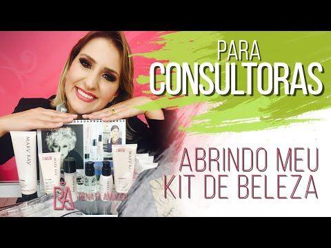 Abrindo meu Kit de Beleza Mary Kay - Renata Amadeu - YouTube