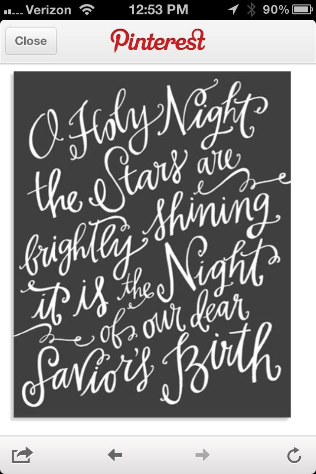 Oh holy night lyrics sign. Must make for Christmas over the fire place! (With images)   O holy night