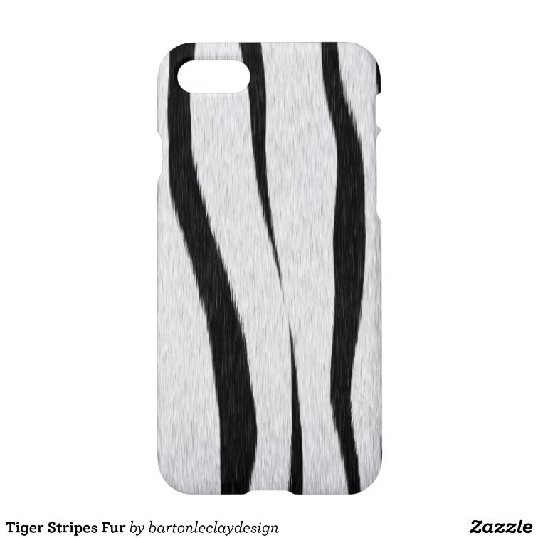 Tiger Stripes Fur iPhone 7 Case