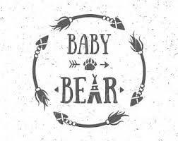 image result for bear family silhouette bears pinterest baby