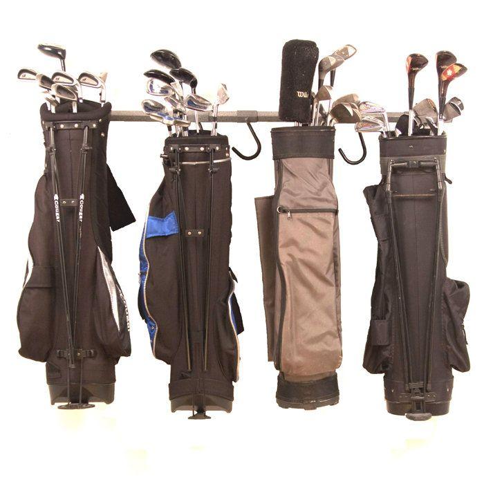 Monkey Bars Golf Bag Rack · Garage Storage ...