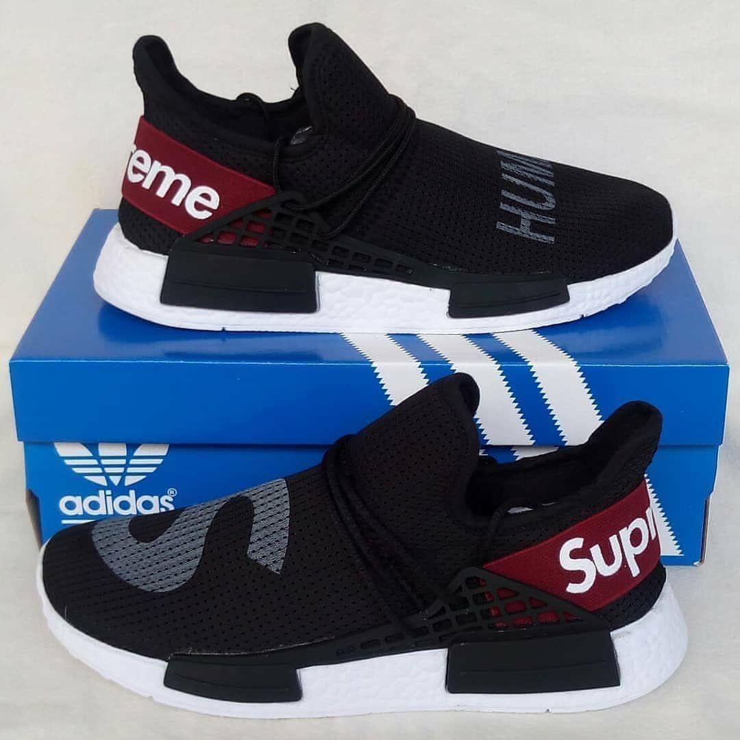 Adidas Nmd X Human Race X Supreme Black White Harga 200 000