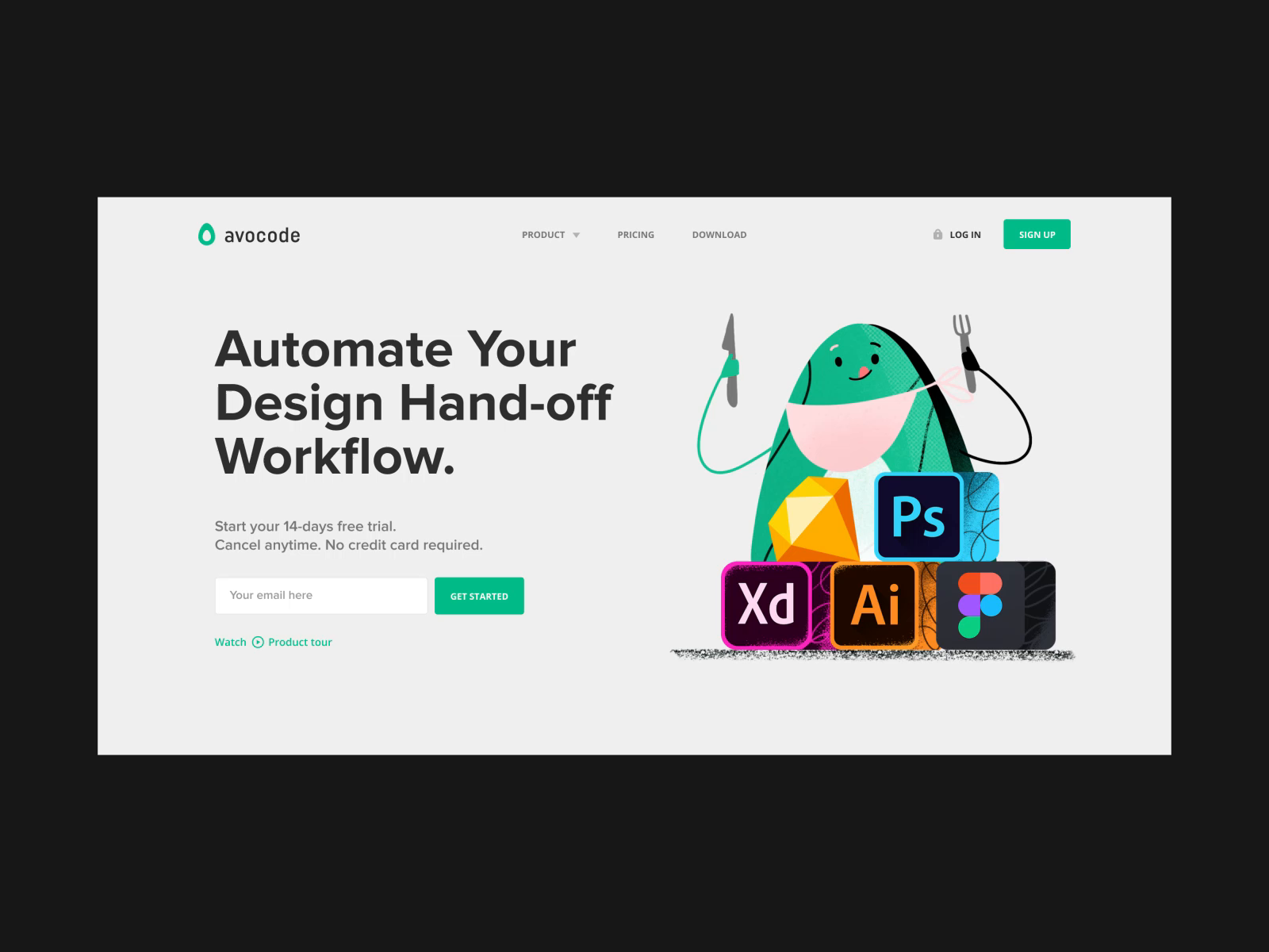 Landing Page Experiment 001 By Thomas Habr Landing Page Experiments Website Design