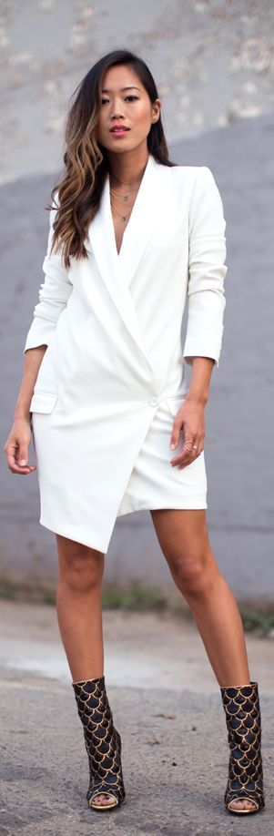 Blazer Dress     by Song Of style
