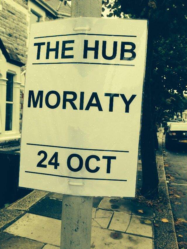 Legitamately saw this in town today, Moriaty is back!!!!!!