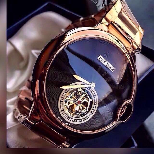 TIME  The Cartier Tourbillon Collection  291b2f16a6e