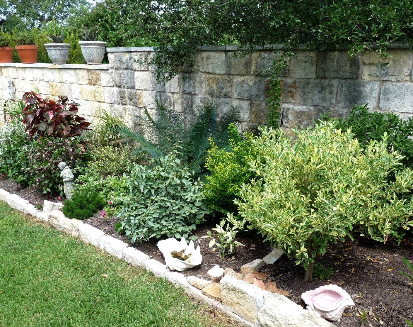 Low Maintenance Landscaping Ideas Texas Central Texas Gardening