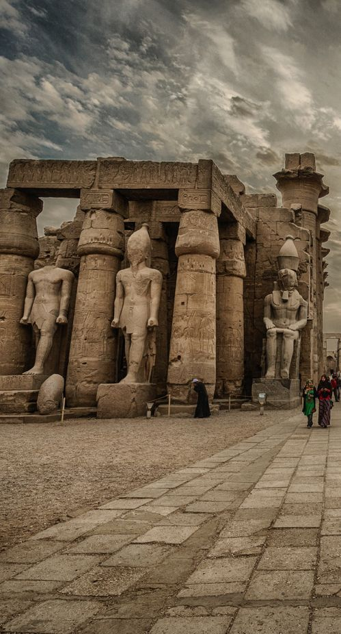 Luxor Temple, Egypt By Chris Youd.