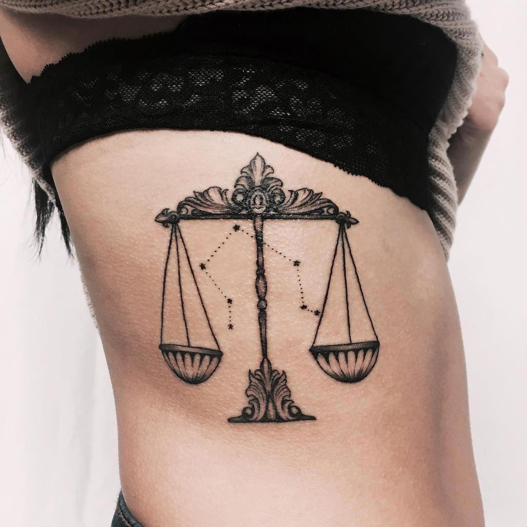 Pin Von Luis Henrique Auf Tattoos Waage Tattoo 2