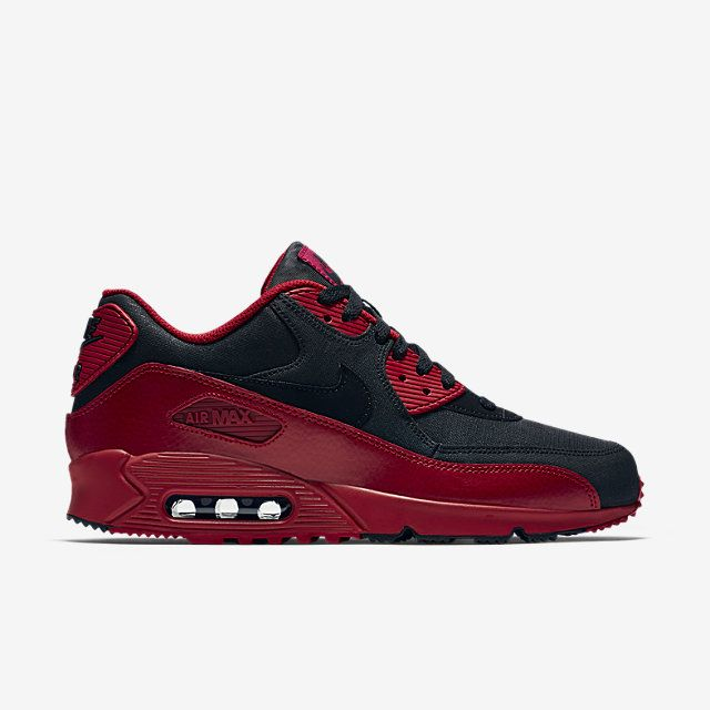 the latest 780c4 2e1f8 Nike Air Max 90 Winter Premium Gym Red Black