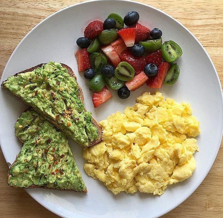 Правильный завтрак для похудения ютуб